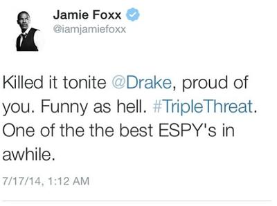 LES ESPY Awards présenté par Drake, ont eu lieu hier soir !