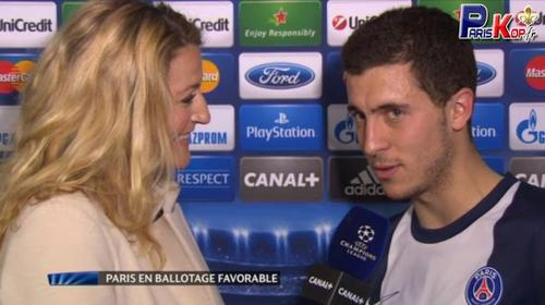 Eden  Hazard � Paris !