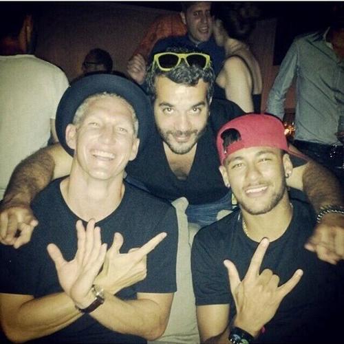 Neymar et Schweinsteiger : friends forever !