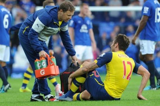 Giroud forfait: conséquences lourdes pour Arsenal !