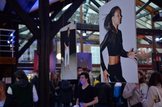 Adidas expose cinq jeunes athlètes français à Paris