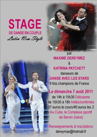 Stage : Bernin / Grenoble .