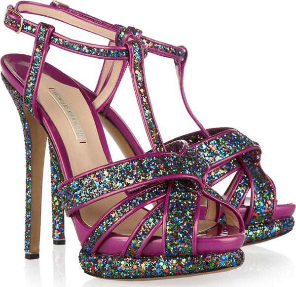 Nicholas Kirkwood - Glitter Sandals �795