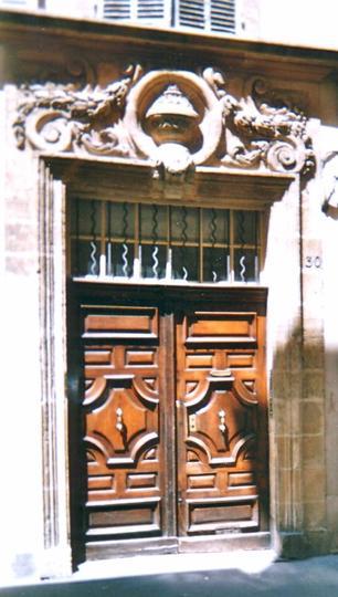 H�tel Particulier du 30 rue Victor Leydet au coeur historique d'Aix-en-Provence