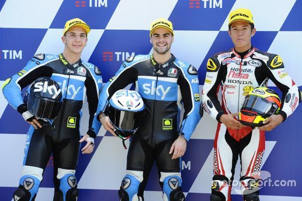 Italie - Moto3/2 - Grilles de qualifications