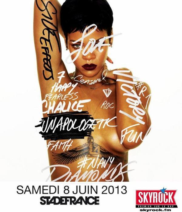 "Rihanna 777 ""Diamonds World Tour """