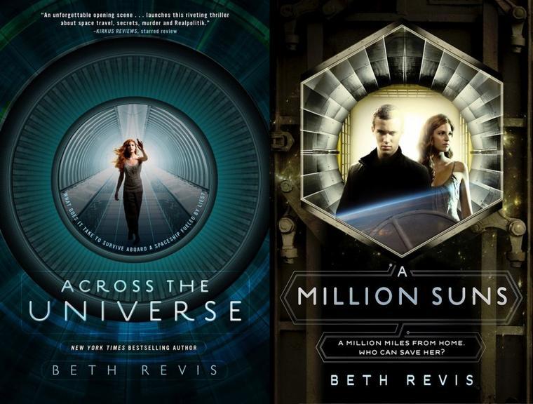 Nouvelles couvertures de la trilogie ACROSS THE UNIVERSE