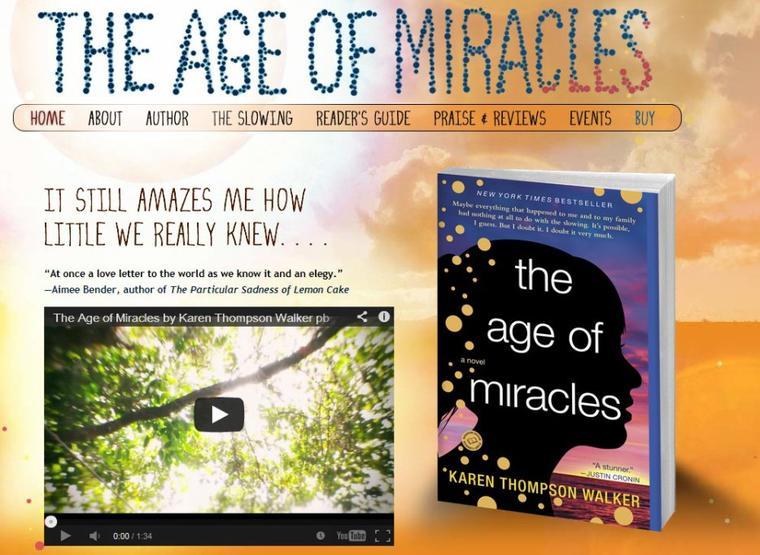 Présentation : L'âge Des Miracles de Karen Thompson Walker