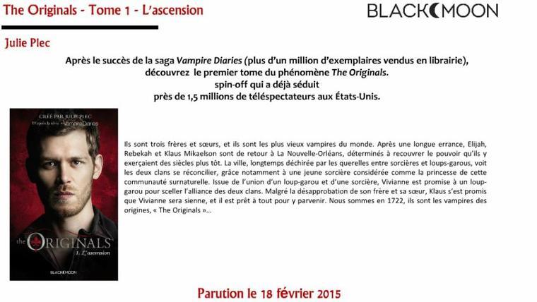 BLACK MOON : SORTIES JANVIER - MARS 2015