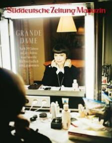 Interview Mireille Mathieu  im Magzin der S�ddeutschen Zeitung