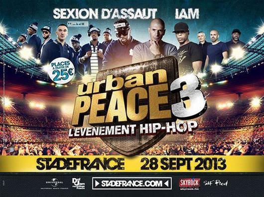 Concert événement : URBAN PEACE 3