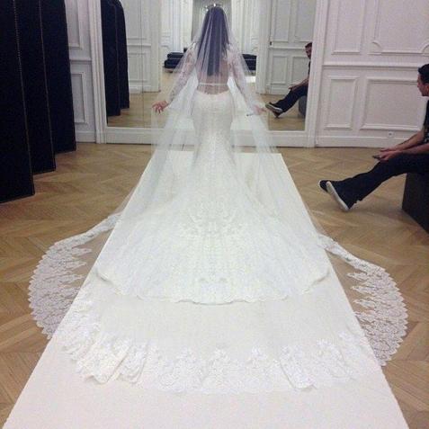 Kanye West & Kim Kardashian mariés