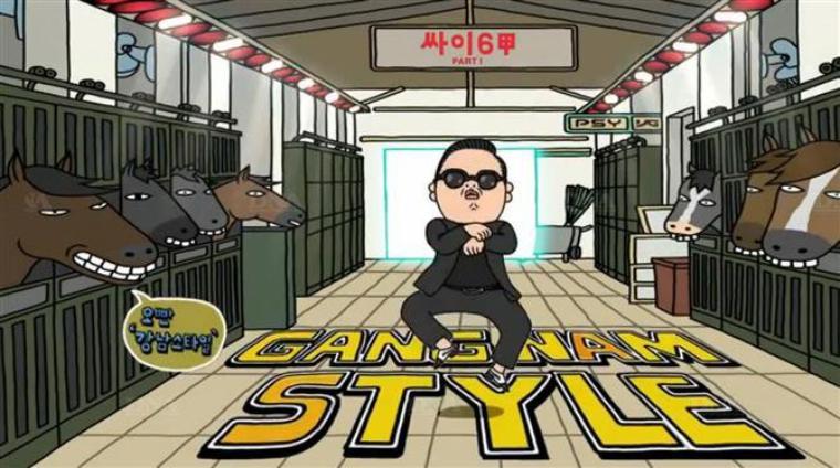 Gangnam Style : 1�re vid�o � passer le milliard de vues sur Internet