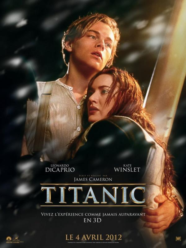 Titanic / Rien sur Terre ne pouvait les séparer.