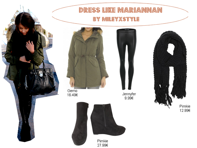 Tenue pour tous les jours façon Mariannan - Ta source mode/beauté sur Miley Cyrus & Mariannan ...