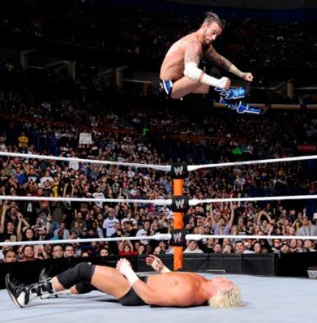 CM Punk bat Dolph Ziggler et conserve son titre