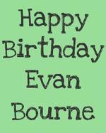 Joyeux Anniversaire a Evan Bourne qui fête ces 29 ans