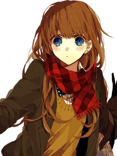 Demande d'images~ : Une fille aux cheveux châtains, et aux yeux bleu ...