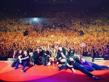 A l'infini Tour - Pau/Bordeaux/Toulouse - le 8/9/11 Avril 2014