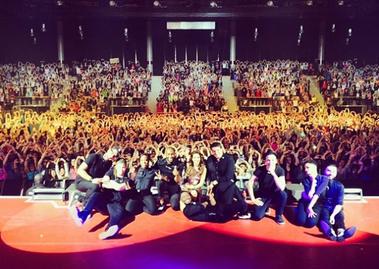 A l'infini Tour - Montpellier/Marseille/Niort - le 12/13/16 Avril 2014