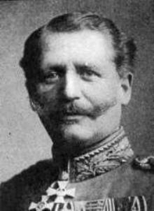 Personnages important pendant la bataille de la somme : K. von Gossler