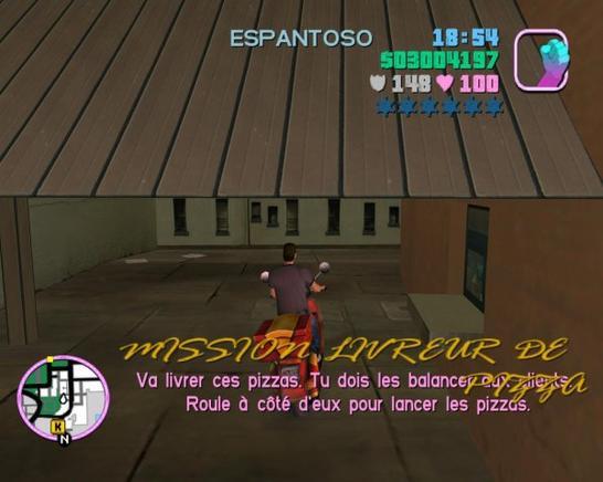Les Boulots dans GTA Vice City