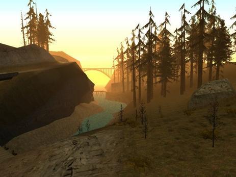Destination: Pleine Nature de San Andreas
