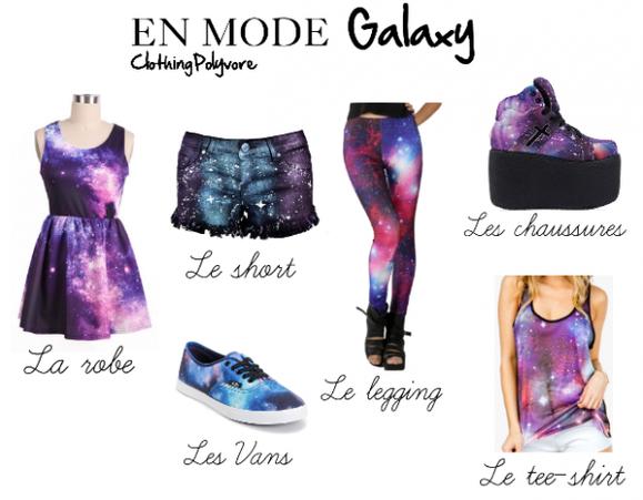 En mode 'Galaxy'