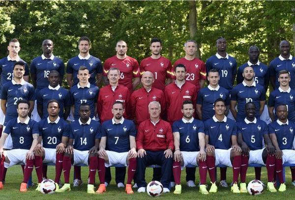 Mondial 2014 : la photo officielle des Bleus