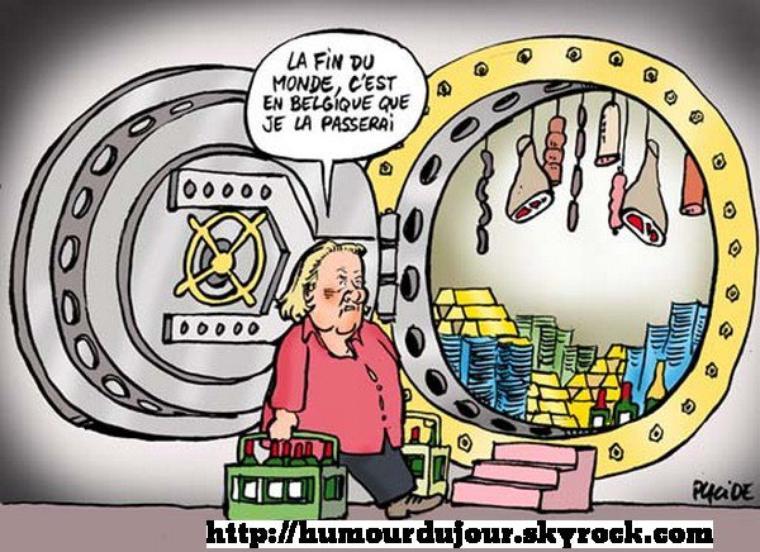 BLOG EN PAUSE POUR CAUSE DE FIN DU MONDE