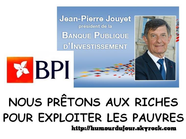 BPI / BANQUE PUBLIC D'INVESTISSEMENT