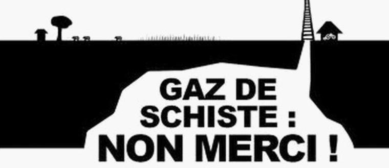 NON AU GAZ DE SCHISTE