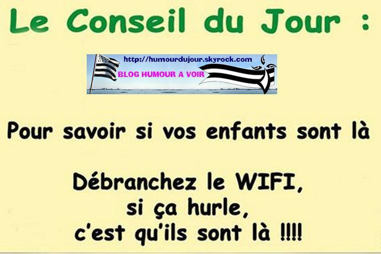 CONSEIL DU JOUR