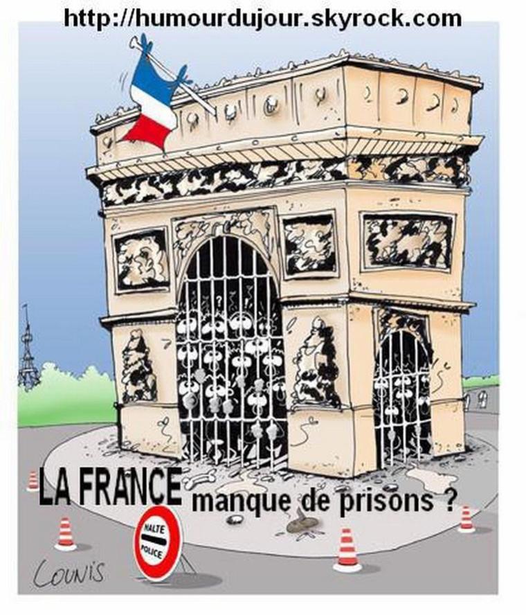 LA FRANCE MANQUE DE PRISONS ?