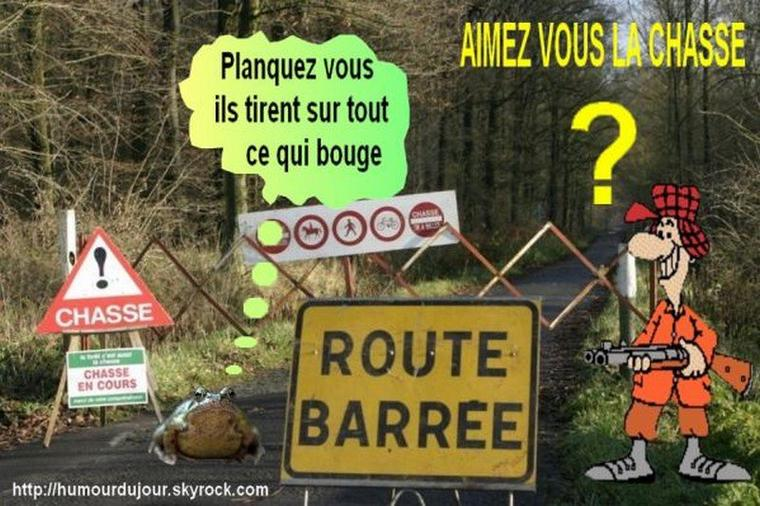 ATTENTION CHASSEURS