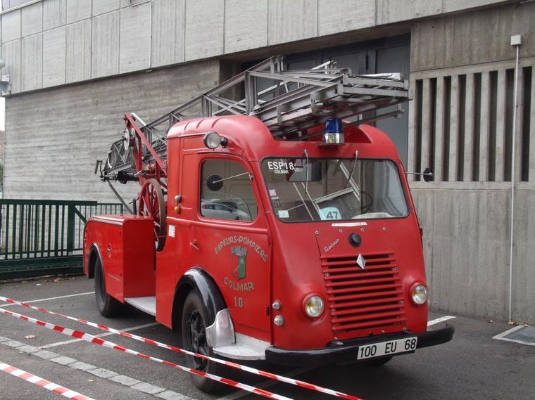 portes ouverte des pompiers de mulhouse renault gallion et laffely de unimog888