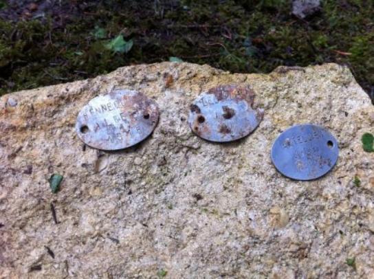 Des ossements de poilus tués lors de la 1ère Guerre Modiale, ont été découverts près de Verdun.
