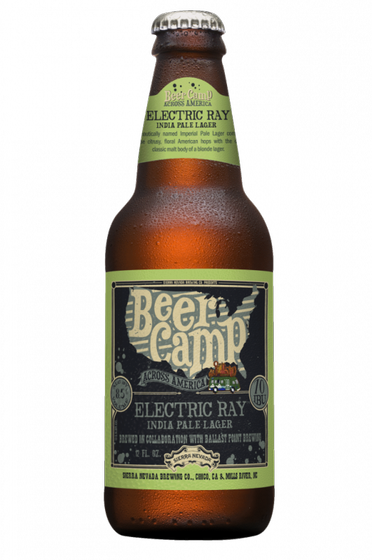 Review : Sierra Nevada- Ballast Point Beer Camp Electric Ray