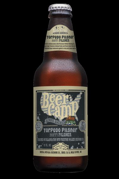 Review : Sierra Nevada - Firestone Walker Beer Camp Torpedo Pilsner