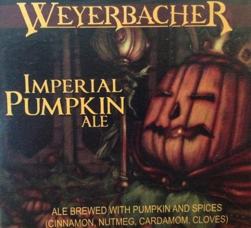 Review : Weyerbacher Imperial Pumpkin Ale