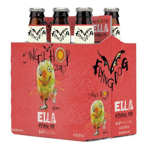 Review : Flying Dog Single Hop Ella Imperial IPA