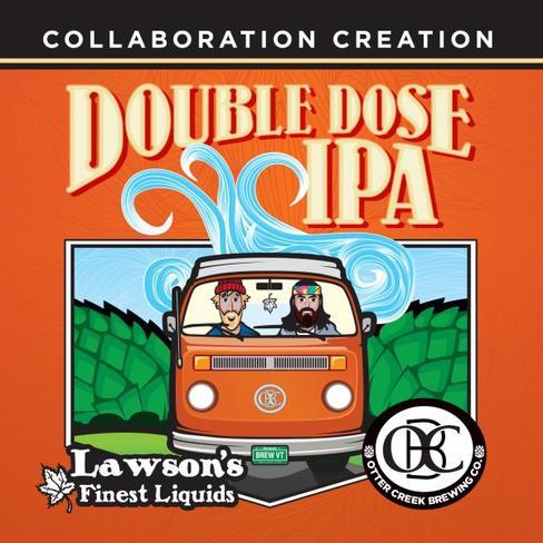 Review : Otter Creek / Lawson's Finest Liquids Double Dose IPA