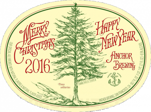 Review : Anchor Christmas Ale 2016