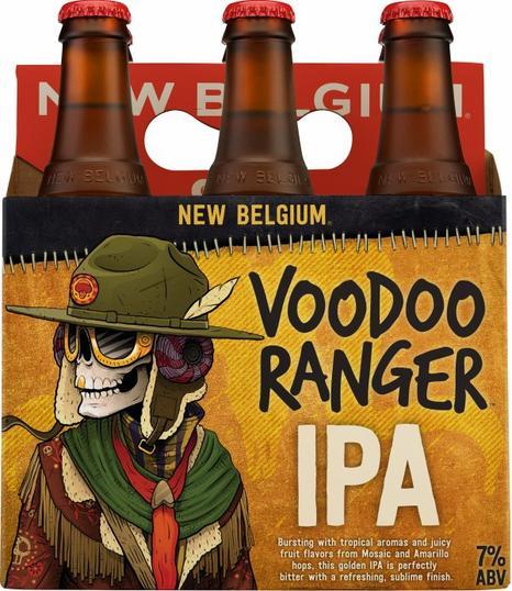 Review : New Belgium Voodoo Ranger IPA