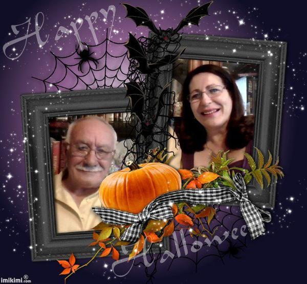 Cadeau pour mon amie Marion.. un peu � l'avance Joyeux Halloween . bisous du (l) Josie