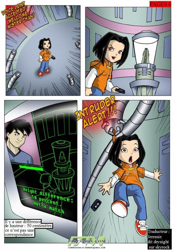 Jacky chan cartoon porn