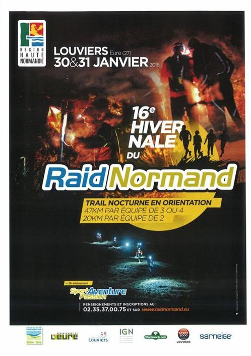 J-5 avant l'hivernal du raid normand