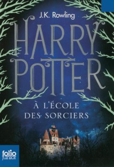 'Harry Potter, tome 1 : Harry Potter à l'école des sorciers' de J.K. Rowling