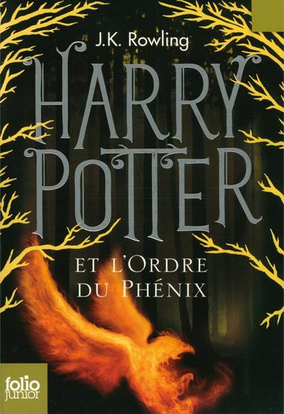 'Harry Potter, tome 5 : Harry Potter et l'Ordre du Phénix' de J.K. Rowling
