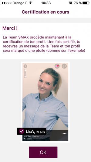 Enfin des profils certifi�s sur Smax !